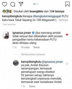 Menteri Jonan siap tinjau ulang PLTU Bengkulu